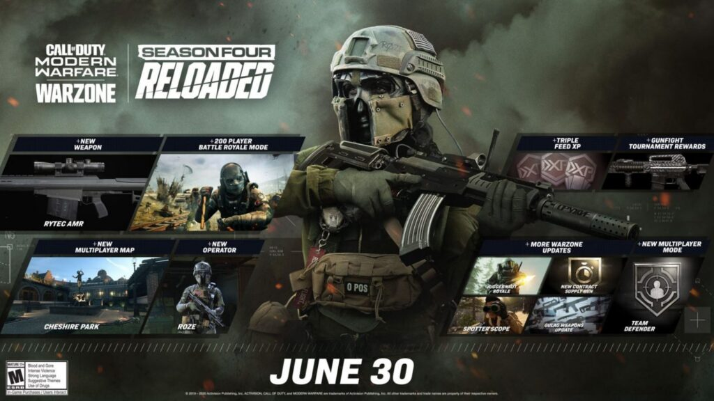 MODERN WARFARE And WARZONE PATCH NOTES 2021 updates